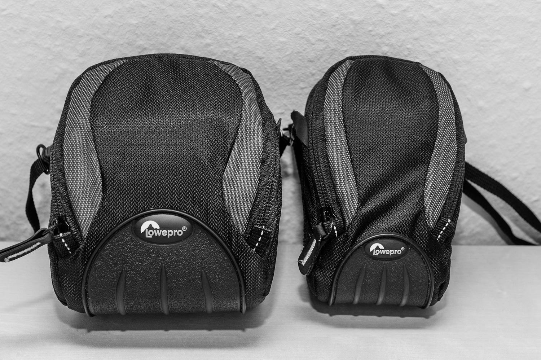 Zwei Fototaschen gehen auf Reisen, (Foto copyright - Frank Weber/Berlin/ www.fotologbuch.de)