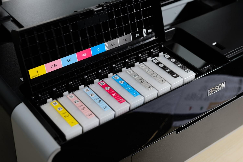 Mein neuer Epson R3000, (Foto copyright - Frank Weber - Berlin - www.fotologbuch.de)