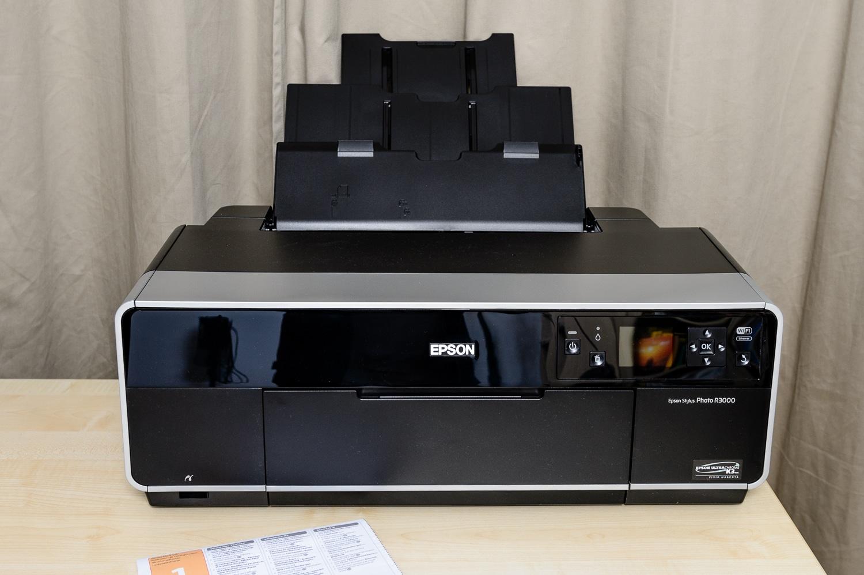 Mein neuer Epson R3000, (Foto copyright - Frank Weber - Berlin - fotologbuch.de)