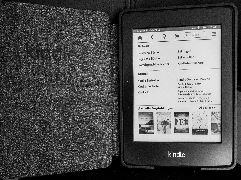 Amazon Kauf Kindle eBook, eine Rechnung bitte, (Foto copyright - Frank Weber - Berlin - fotologbuch.de)