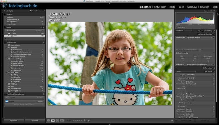 Lightroom Video Tutorial - Fotos entwickeln (1.Schritte), (Foto copyright - Frank Weber - Berlin - fotologbuch.de)