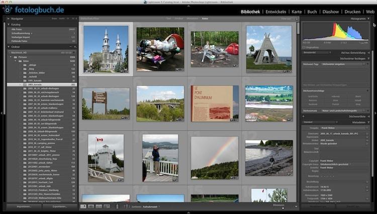 Lightroom Video Tutorial - Aufnahmezeitpunkt von Fotos korrigieren, (Foto copyright - Frank Weber - Berlin - fotologbuch.de)