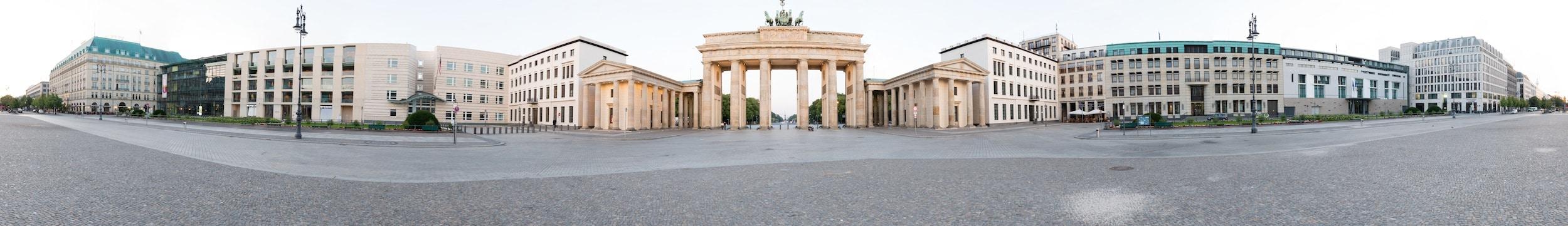 Panorama Brandenburger Tor als virtuelle Tour, (Foto copyright - Frank Weber - Berlin - fotologbuch.de)