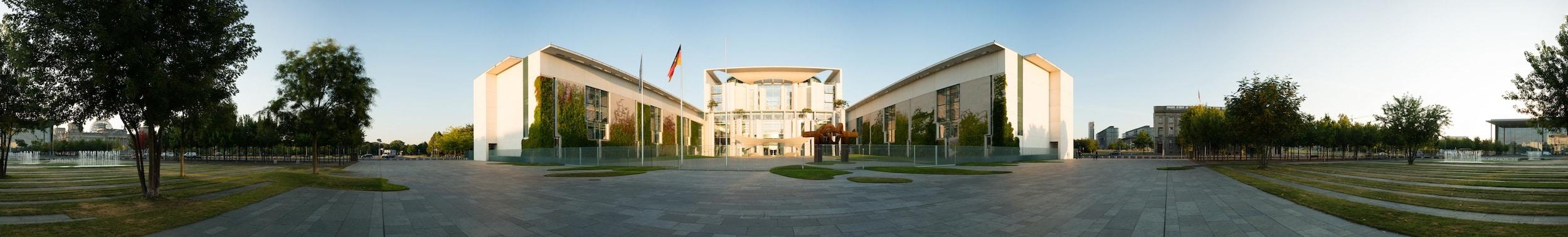 Panorama Kanzleramt (360 Grad), (Foto copyright - Frank Weber - Berlin - www.fotologbuch.de)