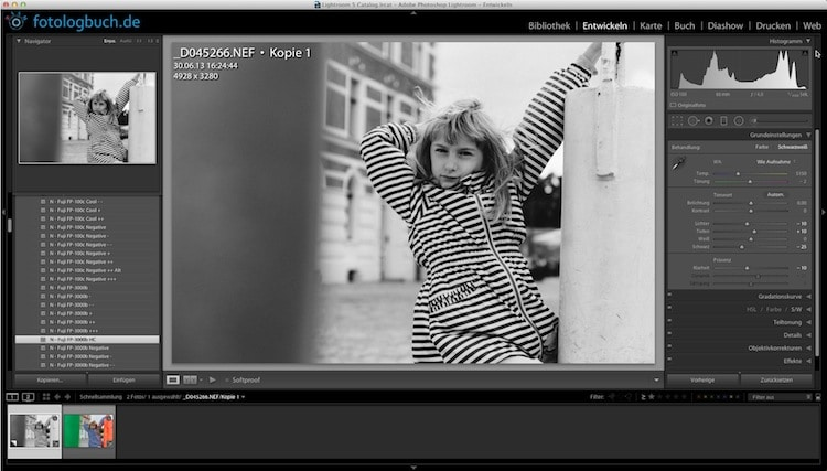 Lightroom Video Tutorial - Virtuelle Kopien, (Foto copyright - Frank Weber - Berlin - fotologbuch.de)
