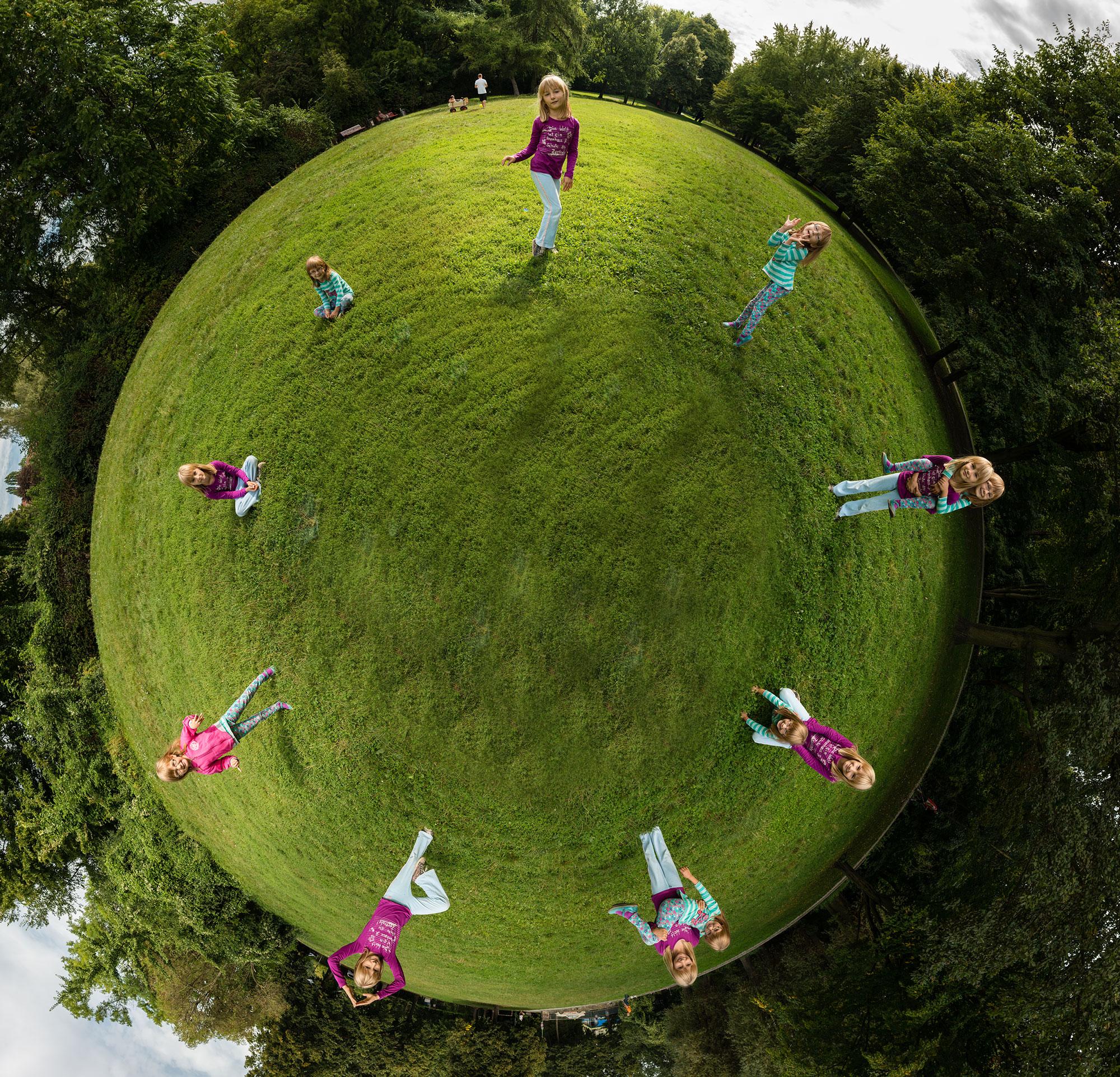 Kinderporträt als Panorama, (Foto copyright - Frank Weber - Berlin - www.fotologbuch.de)