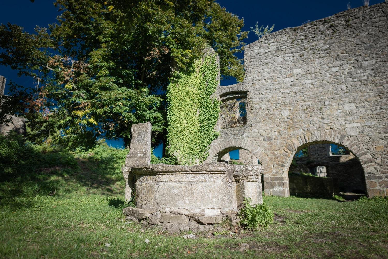 Festungsruine Hohentwiel - Bild 08, (Foto copyright - Frank Weber - Berlin - www.fotologbuch.de)
