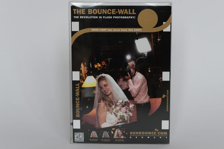 Bounce-Wall von Sunbounce Pro Kit, (Foto copyright - Frank Weber - Berlin - fotologbuch.de)