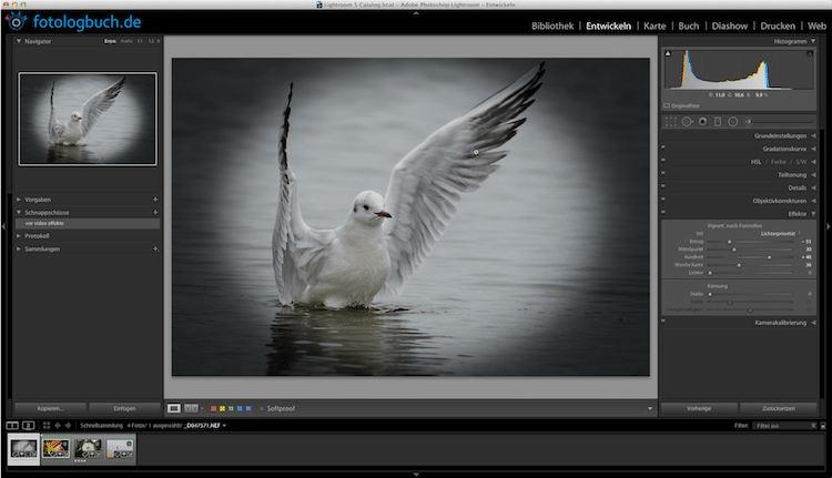 Lightroom Video Tutorial – Effekte