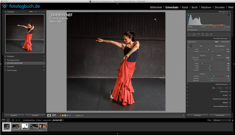 Lightroom Video Tutorial – Freistellen und Ausrichten
