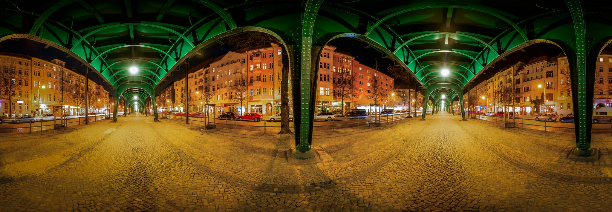 Panorama Berlin - Schönhauser Allee, (Foto copyright - Frank Weber - Berlin - fotologbuch.de)