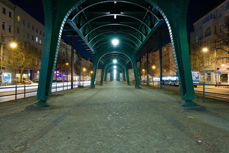 Nachtaufnahme ohne Graufilter, Zeit  13s, (Foto copyright - Frank Weber - Berlin - fotologbuch.de)