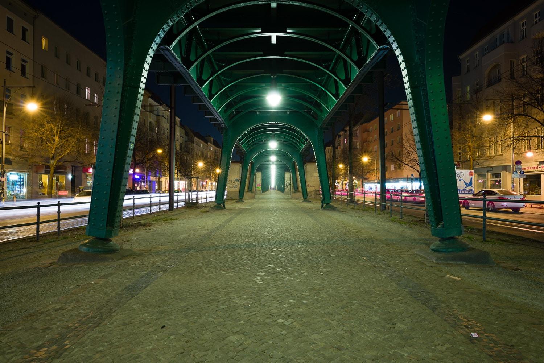 Nachtaufnahme mit Graufilter 64x, Zeit 831s, (Foto copyright - Frank Weber - Berlin - fotologbuch.de)