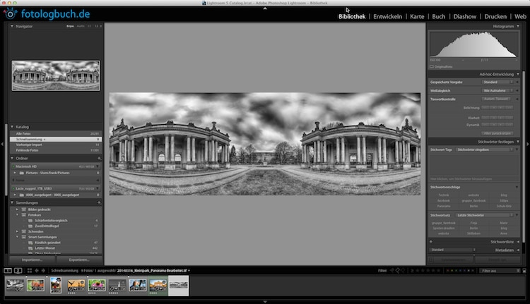 Video Tutorial Lightroom Tastaturbefehle einblenden Quicktipp, (Foto copyright - Frank Weber - Berlin - fotologbuch.de)