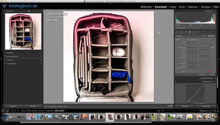 Video Tutorial Lightroom Bearbeitungspunkte einblenden Quickstepp, (Foto copyright - Frank Weber - Berlin - fotologbuch.de)