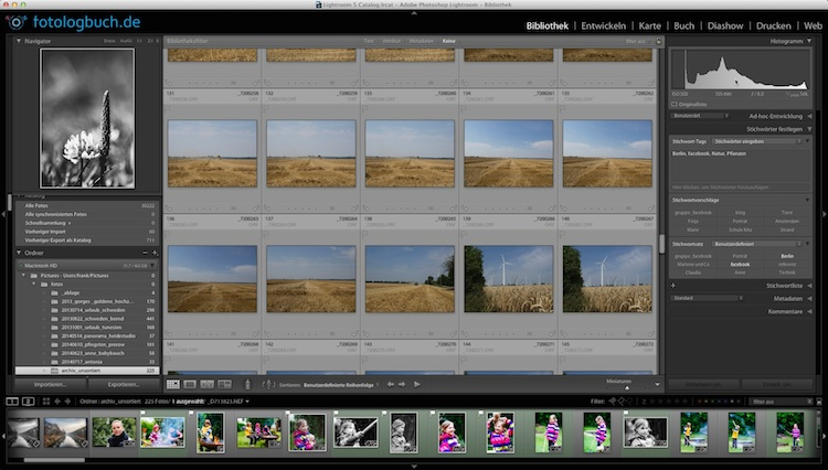 Lightroom Video Tutorial Quicktipp - Import mit oder ohne Unterordner, (Foto copyright - Frank Weber - Berlin - fotologbuch.de)