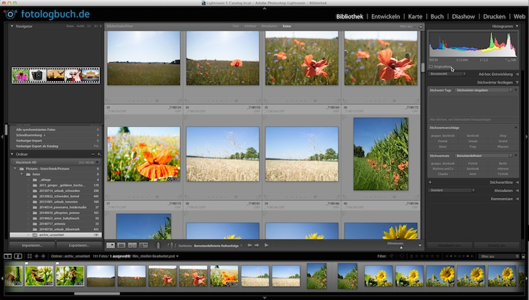 Video Lightroom Tutorial - Dateileichen finden - Quicktipp, (Foto copyright - Frank Weber - Berlin - fotologbuch.de)