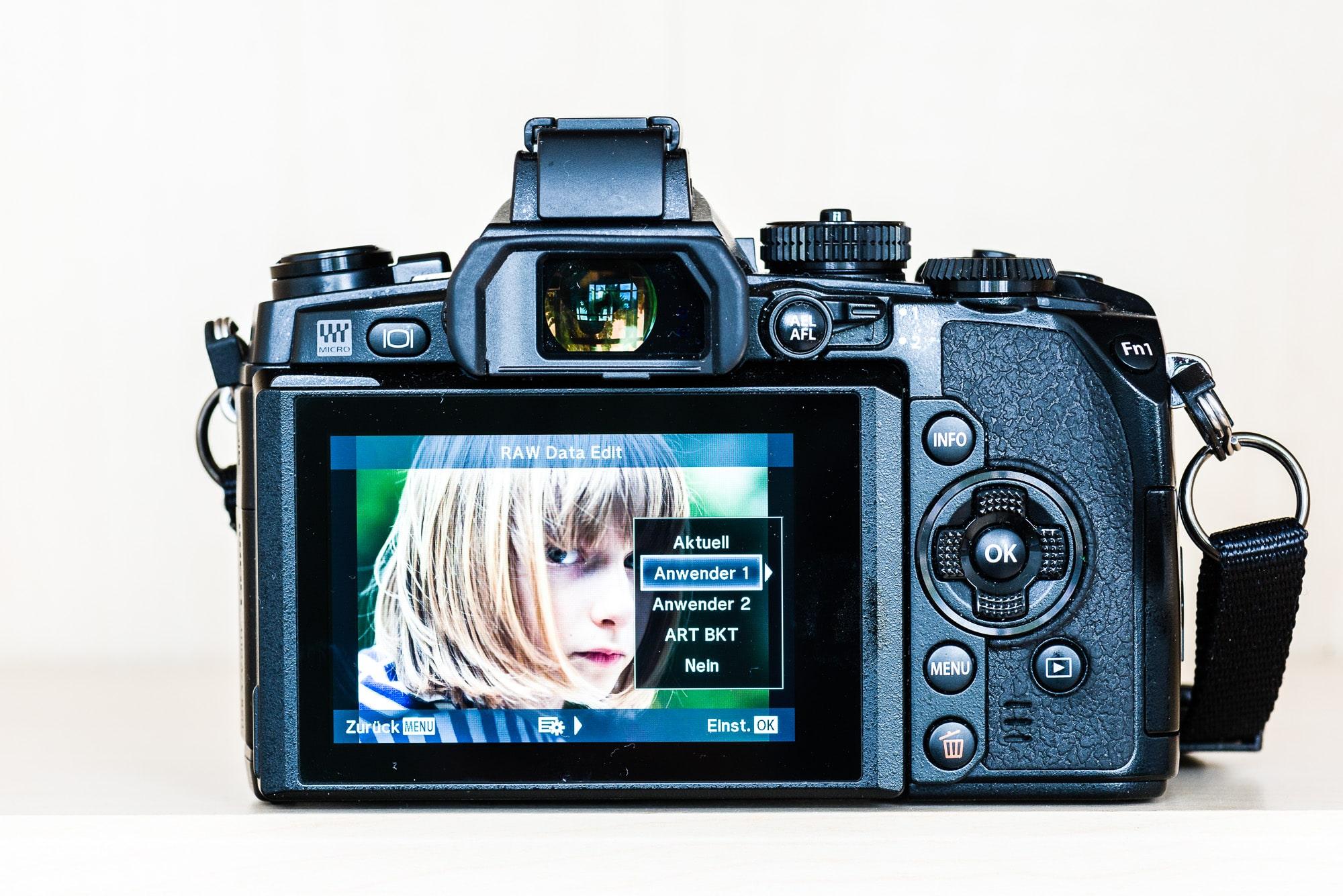 RAW Edit OM-D EM1, Anwenderpreset, (Foto copyright - Frank Weber - Berlin - fotologbuch.de)