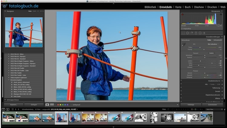 Video Lightroom Tutorial - Fotos bereinigen Teil 2, (Foto copyright - Frank Weber - Berlin - fotologbuch.de)