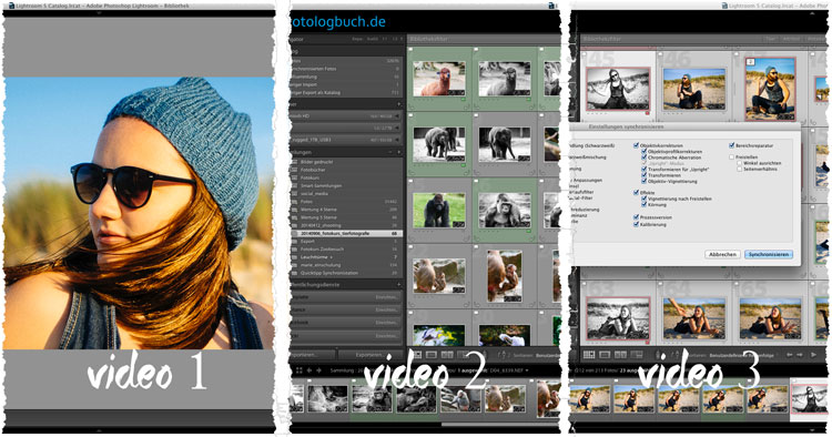 Video Updates Lightroom Tutorials, (Foto copyright - Frank Weber - Berlin - fotologbuch.de)