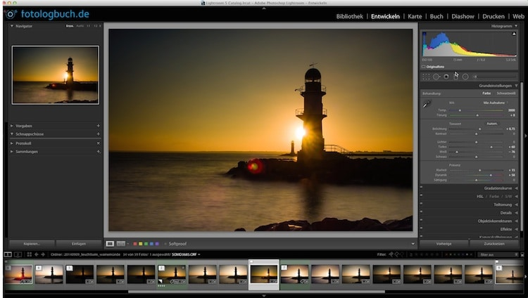 Lightroom Video Tutorial - Filter duplizieren, (Foto copyright - Frank Weber - Berlin - fotologbuch.de)