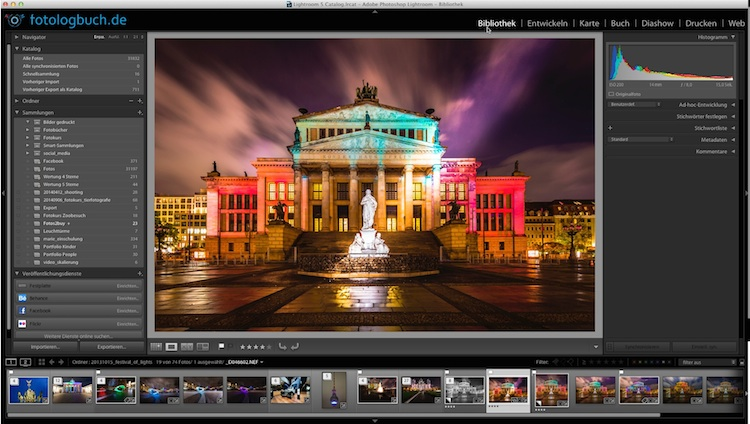 Lightroom Video Tutorial - Filter ausrichten, (Foto copyright - Frank Weber - Berlin - fotologbuch.de)