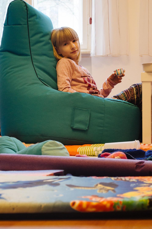 Kinderzimmer mit Kitobjektiv - Blende 5.6, (Foto copyright - Frank Weber - Berlin - fotologbuch.de)