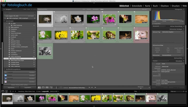 Lightroom Video Tutorial - Sammlung kopieren, (Foto copyright - Frank Weber - Berlin - fotologbuch.de)