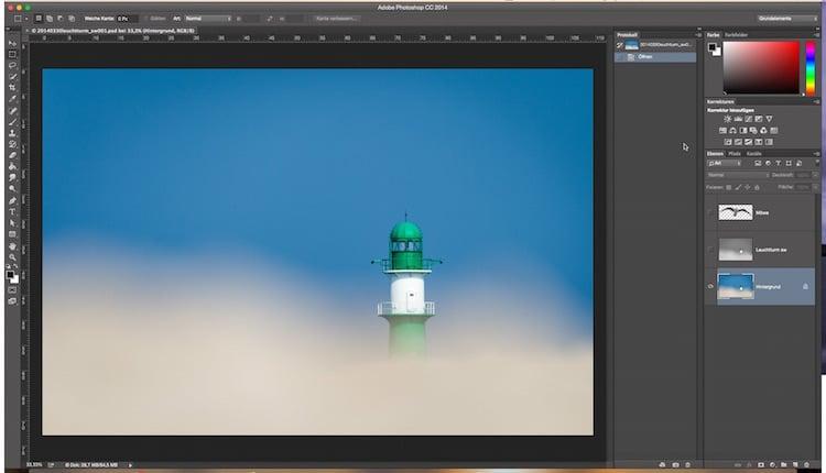 Fotologbuch lernt Photoshop – Die Ebenen