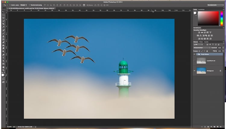 Photoshop Quicktipp – Ebenenstapel