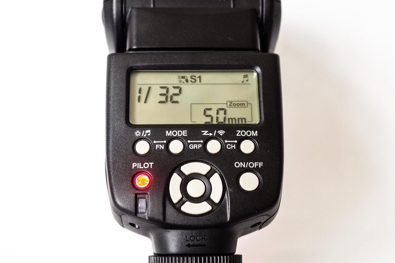Yongnuo 560 Einstellung Mode S1, (Foto copyright - Frank Weber - Berlin - fotologbuch.de)