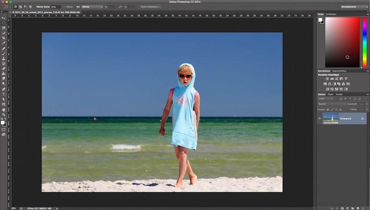 Fotologbuch lernt Photoshop – Die Einstellungsebenen das Prinzip