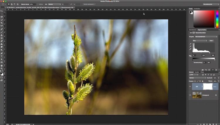 Fotologbuch lernt Photoshop – Die Einstellungsebene Tonwertkorrektur