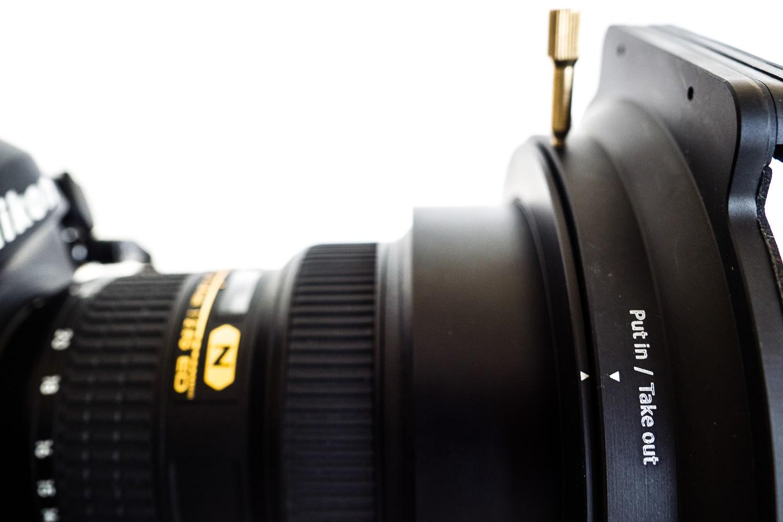 Filterhalter von Haida für das Nikon 14-24mm, (Foto copyright - Frank Weber - Berlin - fotologbuch.de)