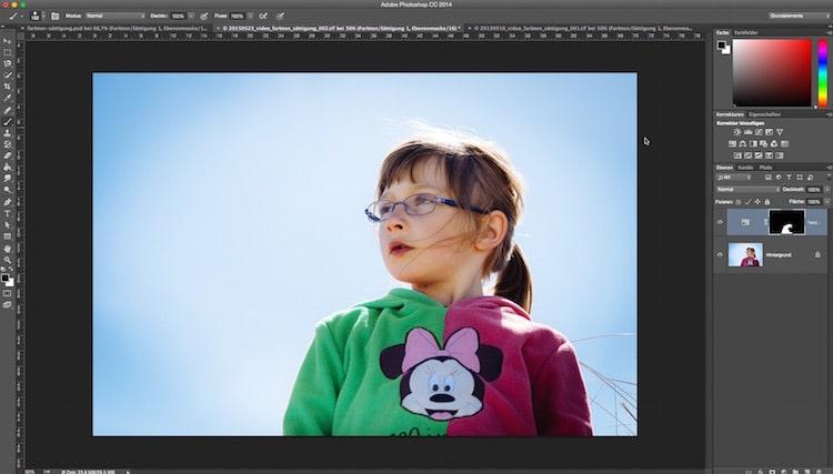 Fotologbuch lernt Photoshop – Die Einstellungsebene Farbton/Sättigung