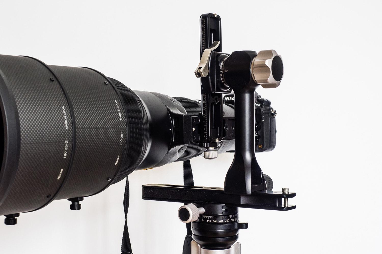 Nikon AF-S 600mm 1:4G VR2 auf Stativ (Magica2.4) und Gimbalhead (ReallyRightStuff), (Foto copyright - Frank Weber - Berlin - fotologbuch.de)