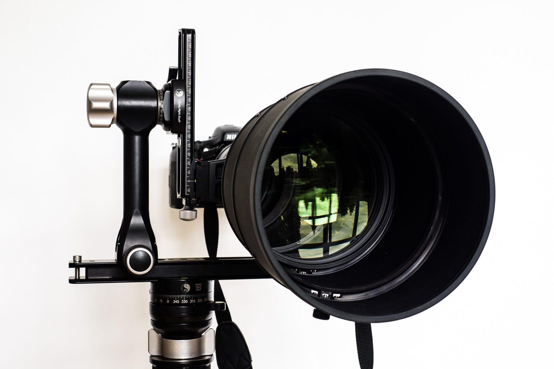 Nikon AF-S 600mm 1:4G VR2 - Frontansicht, (Foto copyright - Frank Weber - Berlin - fotologbuch.de)