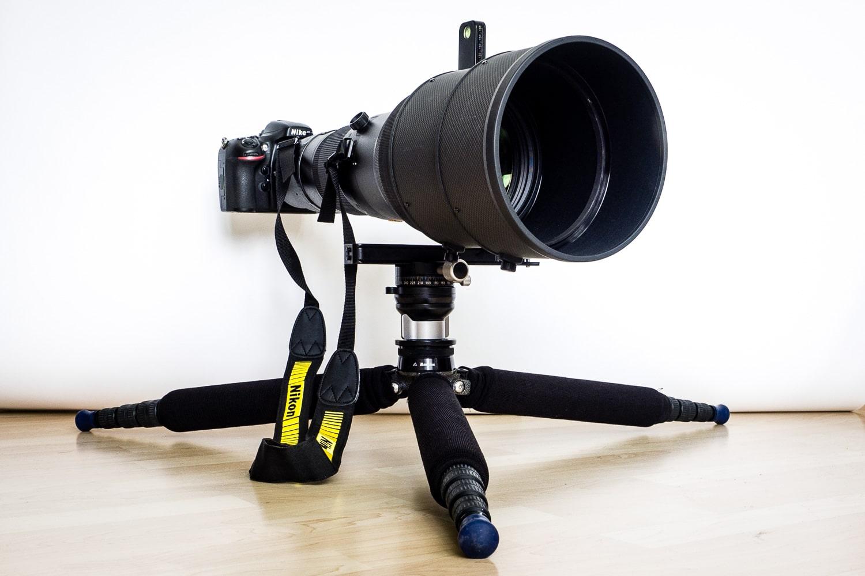 Nikon AF-S 600mm 1:4G VR2 auf Stativ (Magica2.4) und Gimbalhead (ReallyRightStuff) für bodennahe Aufnahmen, (Foto copyright - Frank Weber - Berlin - fotologbuch.de)