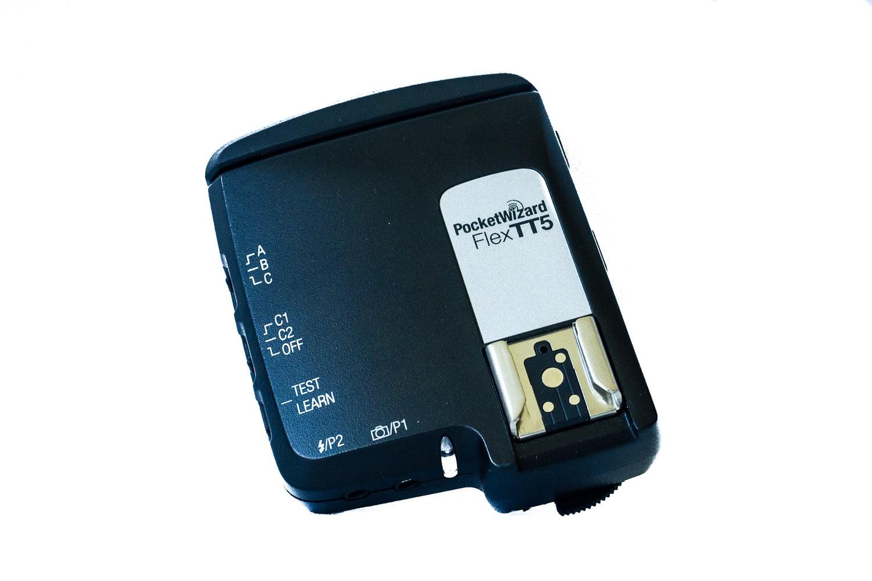 PocketWizard Flex TT5 Transceiver, (Foto copyright - Frank Weber - Berlin - fotologbuch.de)