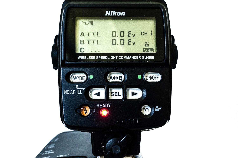 Leistungsregelung Blitzgruppen mit Nikon SU-800, (Foto copyright - Frank Weber - Berlin - fotologbuch.de)
