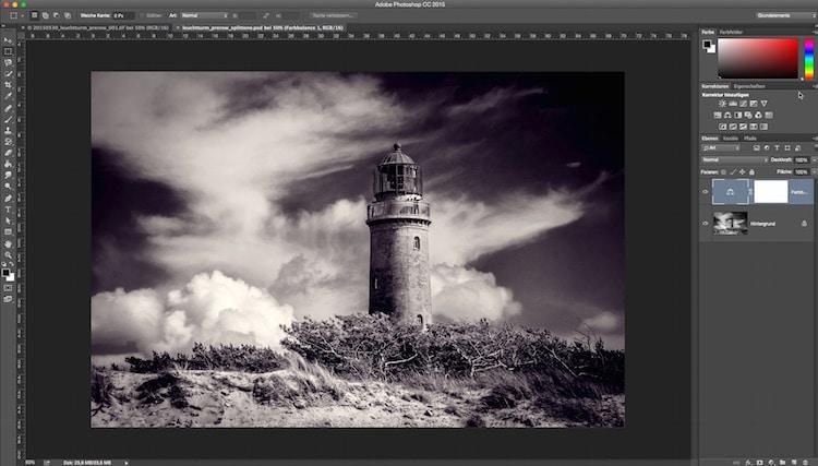 Fotologbuch lernt Photoshop – Schwarz/Weiß Fotos mit Photoshop erzeugen