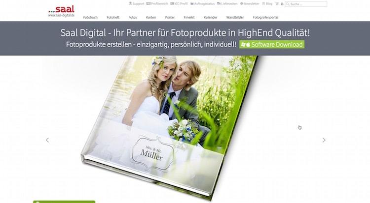 Ein Fotobuch mit Saal-Digital erstellen