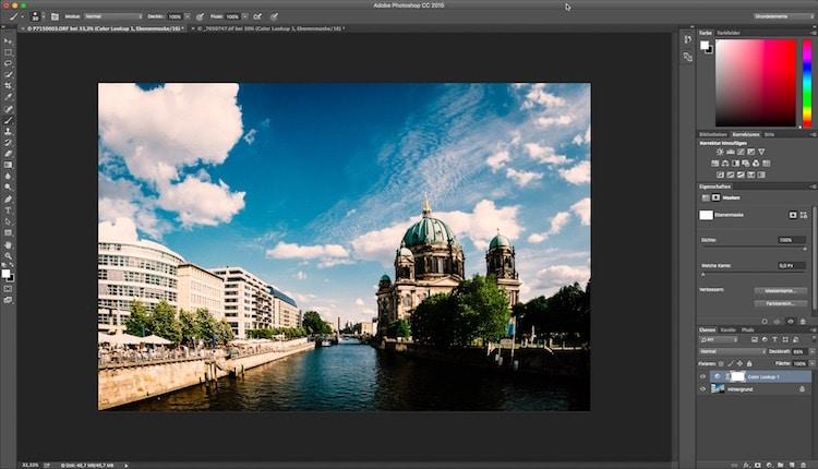Fotologbuch lernt Photoshop – Die Einstellungsebene Color-Lookup