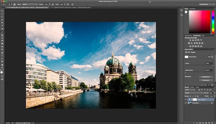 Fotologbuch lernt Photoshop Folge 15 - Einstellungsebene Color-Lookup, (Foto copyright - Frank Weber - Berlin - fotologbuch.de)