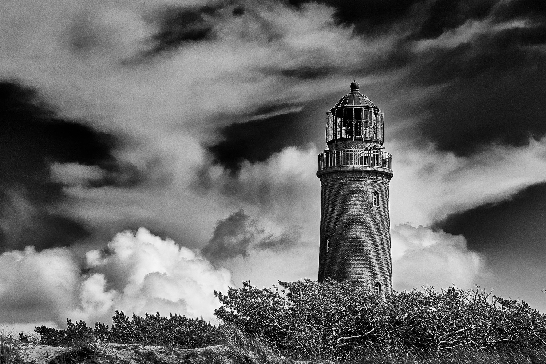 Leuchtturm Prerow Natureum, (Foto copyright - Frank Weber - Berlin - fotologbuch.de)