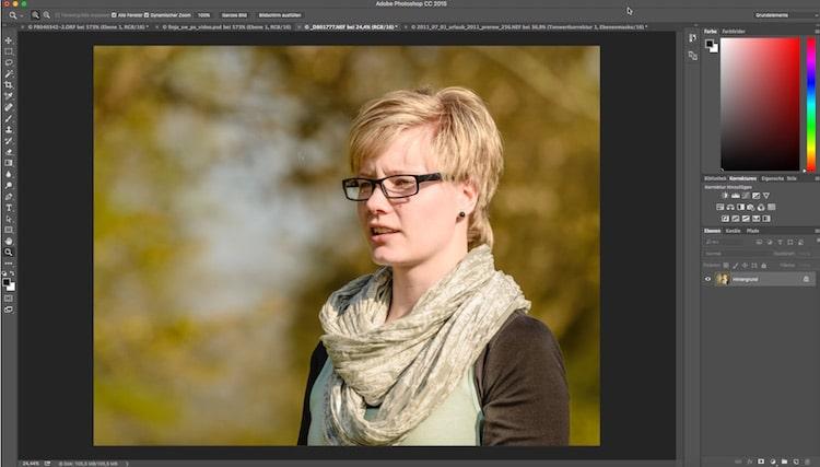 Fotologbuch lernt Photoshop – Die Einstellungsebene Schwellenwert