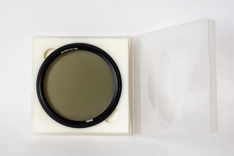 Haida Pro II Digital Slim Polfilter Zirkular MC (multicoating) im Set mitgeliefert, (Foto copyright - Frank Weber - Berlin - fotologbuch.de)