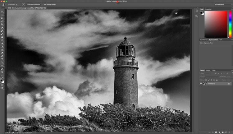 Fotologbuch lernt Photoshop – Im Foto navigieren – Zoomen, Bewegen und Drehen