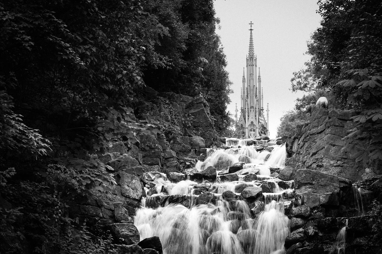 Test Wasserfall und Bewegungsunschärfe - Wasser Strukturen - Beitragstitelfoto, (Foto copyright - Frank Weber - Berlin - fotologbuch.de)