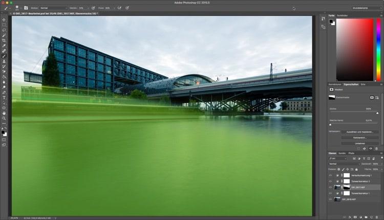 Photoshop Quicktipp . Maske im Foto anzeigen - Maskenfarbe ändern, (Foto copyright - Frank Weber - Berlin - fotologbuch.de)